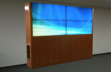 Wall Mounted LCD Video Wall