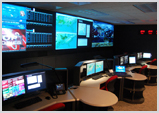 Control Room Furniture and Video Wall
