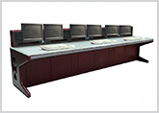 Industrial Control Room Console