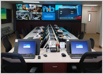 Videowall Display for Operation Centers