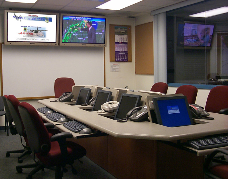Emergency Operations Center Furniture Designed For Large