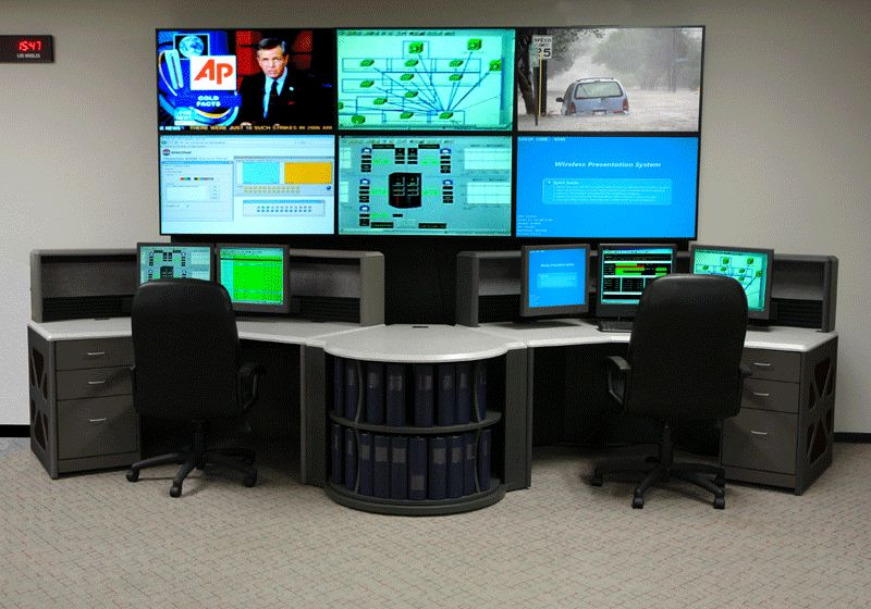 Lcd Video Wall Display Solutions Control Rooms Usa