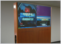 LCD Video Wall Cabinetry