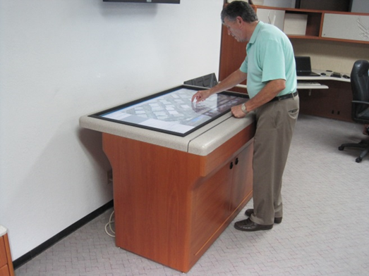 Electronic Map Cabinet Replaces Inefficient Map Files