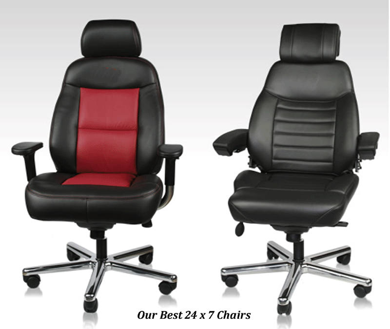 Chairs for control room operators 24 7 durability for Super comfy office chair